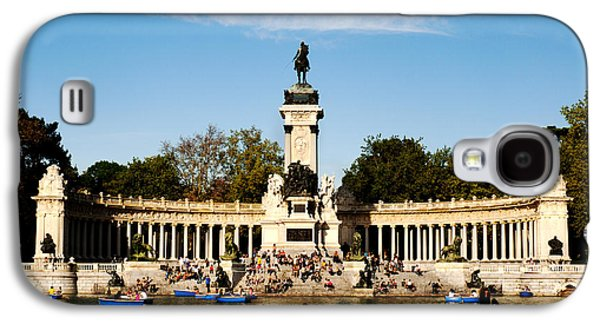 Monument Galaxy S4 Cases - Monument to Alfonso XII Galaxy S4 Case by Fabrizio Troiani