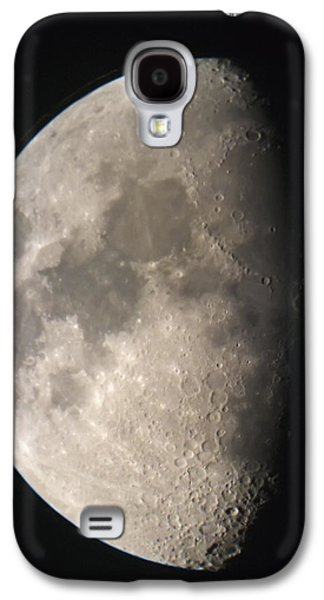 Design Pics - Galaxy S4 Cases - Moon Against The Black Sky Galaxy S4 Case by John Short