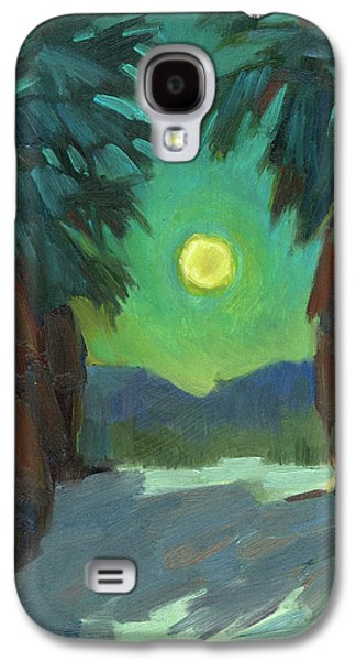 Moonrise Galaxy S4 Case by Diane McClary