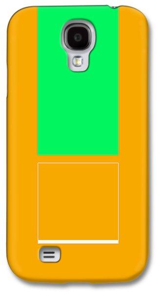 Forms Digital Art Galaxy S4 Cases - Mopu Galaxy S4 Case by Naxart Studio
