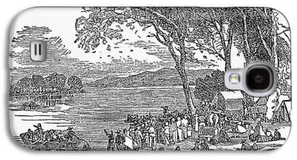 Anti-discrimination Galaxy S4 Cases - Mormon Flight, 1833 Galaxy S4 Case by Granger
