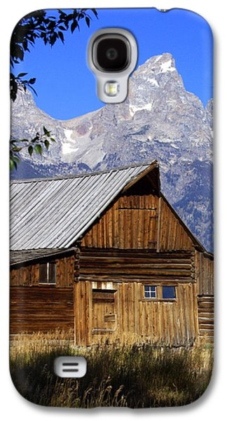Marty Koch Galaxy S4 Cases - Mormon Row Barn  1 Galaxy S4 Case by Marty Koch