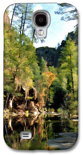 Oak Creek Galaxy S4 Cases - Morning at Oak Creek Arizona Galaxy S4 Case by Kurt Van Wagner
