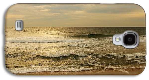 Morning Galaxy S4 Cases - Morning On The Beach - Jersey Shore Galaxy S4 Case by Angie Tirado