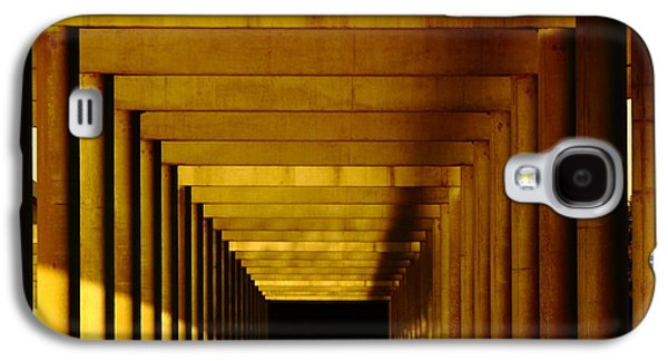 Business Decor Galaxy S4 Cases - Morning Under The Bridge Galaxy S4 Case by Robert Frederick