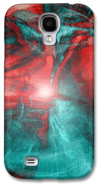 Morphing Galaxy S4 Cases - Morphing Thru Time Galaxy S4 Case by Linda Sannuti