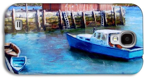 Jack Skinner Galaxy S4 Cases - Motif One Rockport Harbor Galaxy S4 Case by Jack Skinner
