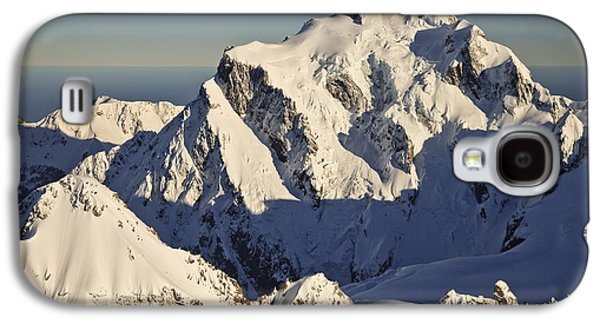 Mountain Photographs Galaxy S4 Cases - Mount Tutoko At Dawn Hollyford Valley Galaxy S4 Case by Colin Monteath