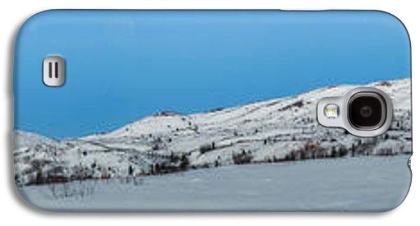 Mountain Range Along The Dempster Highway Galaxy S4 Case by Priska Wettstein