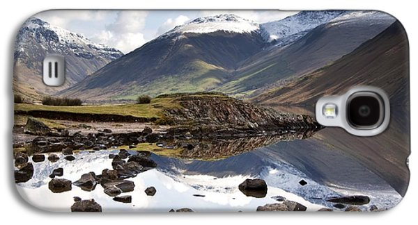 Design Pics - Galaxy S4 Cases - Mountains And Lake At Lake District Galaxy S4 Case by John Short