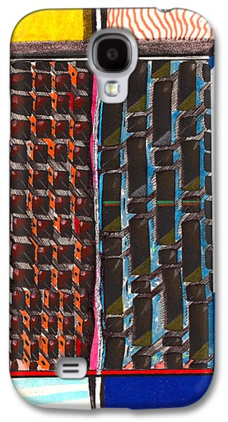 Ghetto Drawings Galaxy S4 Cases - The Projects  Galaxy S4 Case by Al Goldfarb