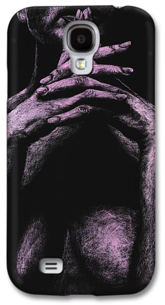 Fine Art Pastels Galaxy S4 Cases - Museful Galaxy S4 Case by Richard Young