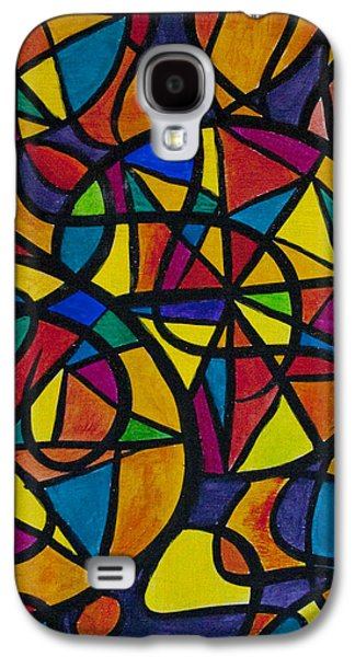 Religious Galaxy S4 Cases - My Three Suns Galaxy S4 Case by Jaime Haney