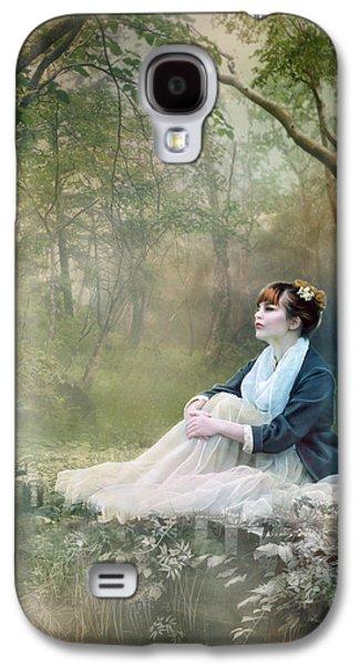 Mist Galaxy S4 Cases - Mystic Contemplation Galaxy S4 Case by Karen H
