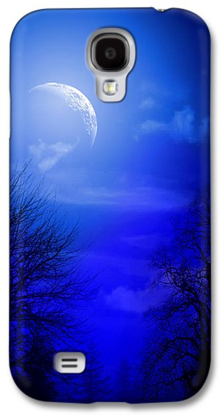 Animation Galaxy S4 Cases - Mystic Night Galaxy S4 Case by Mark Ashkenazi