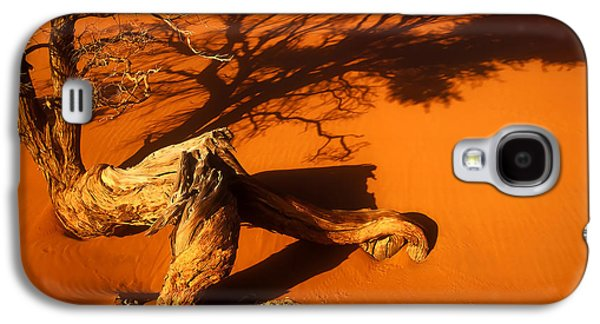 Abstract Digital Pyrography Galaxy S4 Cases - Namibia 2 Galaxy S4 Case by Mauro Celotti