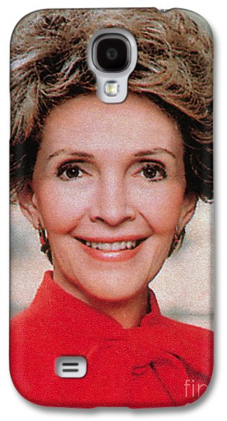 First Lady Galaxy S4 Cases - Nancy Reagan, 40th First Lady Galaxy S4 Case by Photo Researchers