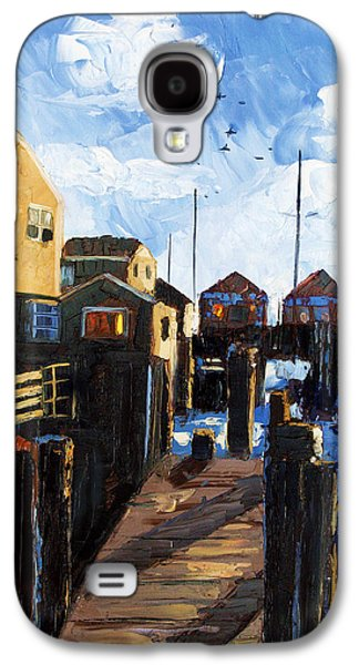 Building Metal Prints Galaxy S4 Cases - Nantucket Galaxy S4 Case by Anthony Falbo