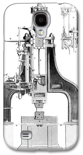 Technological Photographs Galaxy S4 Cases - Nasmyths Steam Hammer, Artwork Galaxy S4 Case by Library Of Congress
