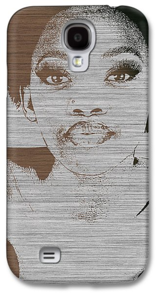 African-american Galaxy S4 Cases - Natasha Brown Galaxy S4 Case by Naxart Studio