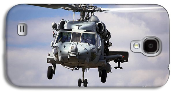 Fort Pierce Galaxy S4 Cases - Navy Pilots In A Sh-60f Seahawk Conduct Galaxy S4 Case by Michael Wood