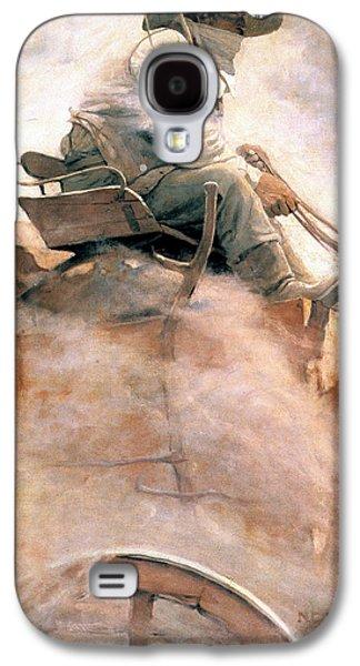 1907 Galaxy S4 Cases - N.c. Wyeth: Ore Wagon Galaxy S4 Case by Granger