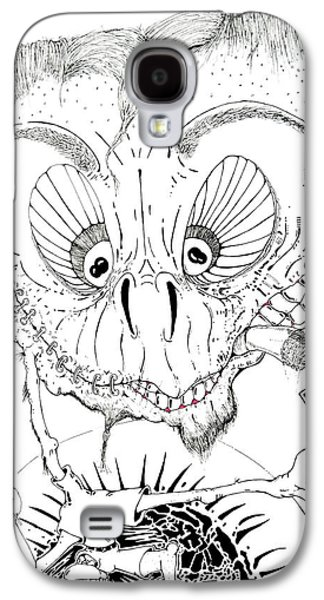 Basic Drawings Galaxy S4 Cases - Need a Light Galaxy S4 Case by Jack Norton