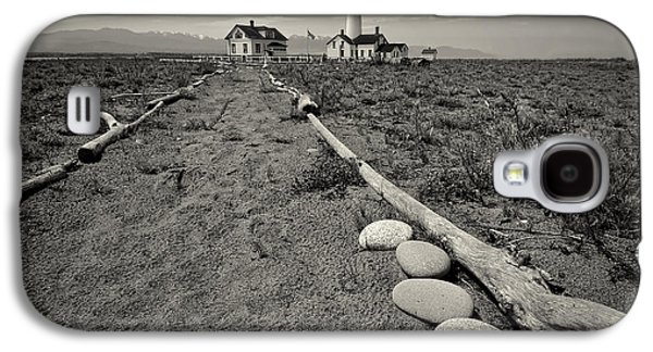 Spit Galaxy S4 Cases - New Dungeness Lighthouse Galaxy S4 Case by Dan Mihai