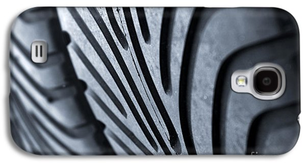 Auto Photographs Galaxy S4 Cases - New racing tires Galaxy S4 Case by Carlos Caetano