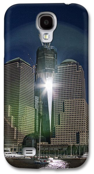 Terrorist Galaxy S4 Cases - New World Trade Center Galaxy S4 Case by David Smith