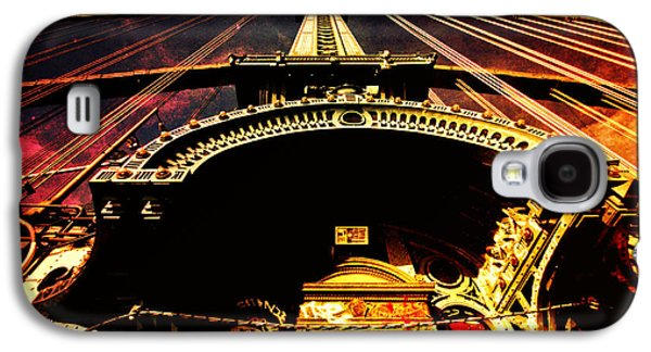 Science Fiction Photographs Galaxy S4 Cases - New York City Architecture Galaxy S4 Case by Vivienne Gucwa
