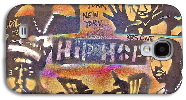 First Amendment Paintings Galaxy S4 Cases - New York New York Galaxy S4 Case by Tony B Conscious