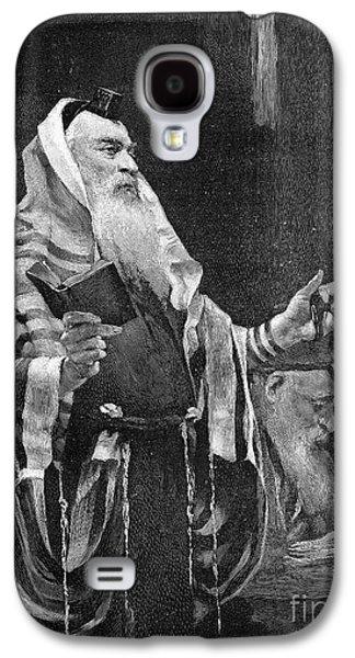 Landmarks Photographs Galaxy S4 Cases - New York Rabbi, 1890 Galaxy S4 Case by Granger