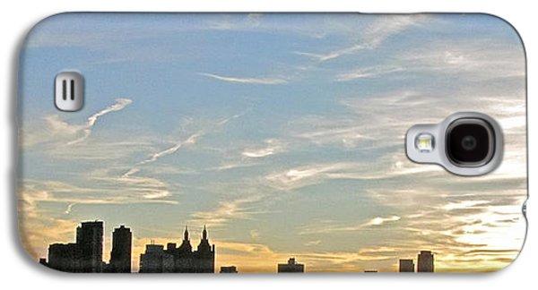 Randi Shenkman Galaxy S4 Cases - New York Sunset 2 Galaxy S4 Case by Randi Shenkman