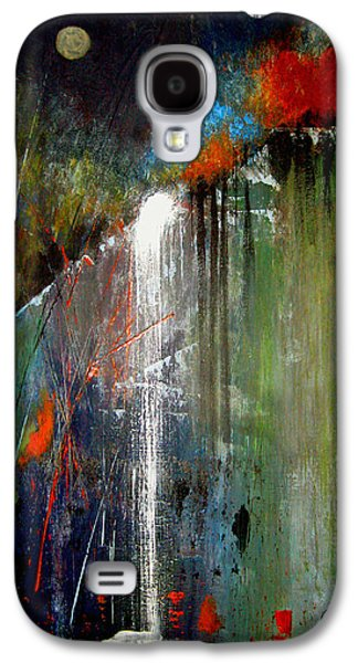 Abstract Landscape Galaxy S4 Cases - Night Falls Galaxy S4 Case by Ruth Palmer