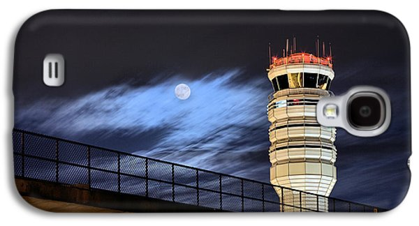 Traffic Control Galaxy S4 Cases - Night Watch Galaxy S4 Case by JC Findley