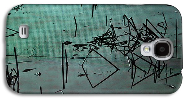 Waterscape Mixed Media Galaxy S4 Cases - Nightfall Over the Wetlands Galaxy S4 Case by Bonnie Bruno