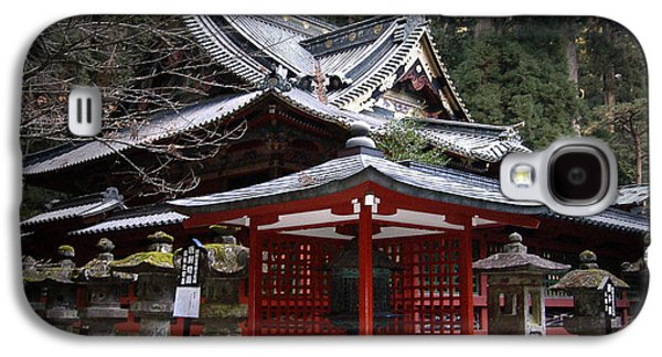Pathway Galaxy S4 Cases - Nikko Monastery Building Galaxy S4 Case by Naxart Studio