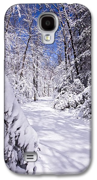 Winter Prints Photographs Galaxy S4 Cases - No Footprints Galaxy S4 Case by Rob Travis