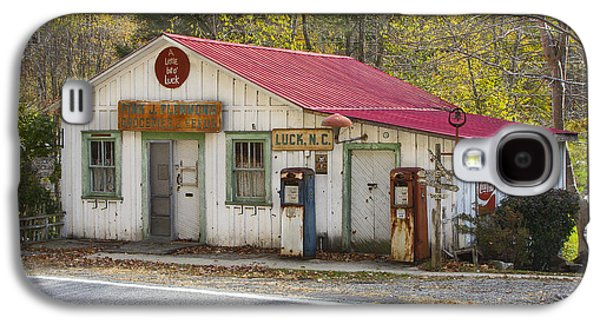 Country Store Galaxy S4 Cases - North Carolina Country Store and Gas Station Galaxy S4 Case by Bill Swindaman