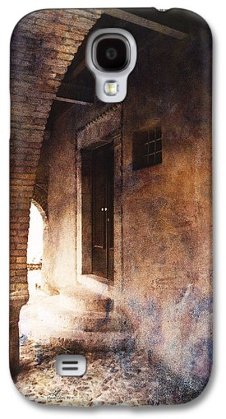 Recently Sold -  - Abstract Digital Pyrography Galaxy S4 Cases - North Italy 2 Galaxy S4 Case by Mauro Celotti