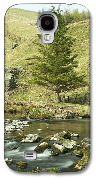Design Pics - Galaxy S4 Cases - Northumberland, England A River Flowing Galaxy S4 Case by John Short