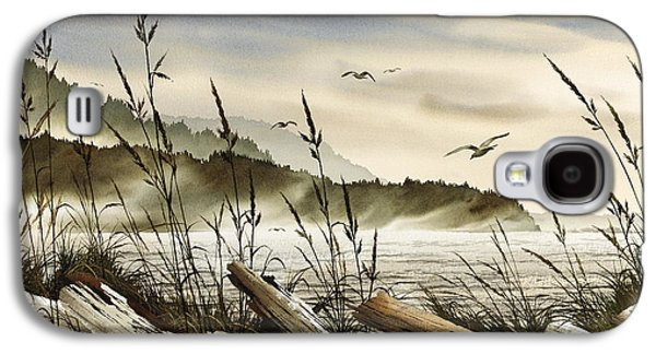 Landscape Greeting Cards Galaxy S4 Cases - Northwest Shore Galaxy S4 Case by James Williamson