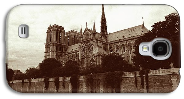 Architecture Framed Prints Galaxy S4 Cases - Notre Dame Galaxy S4 Case by Kathy Yates