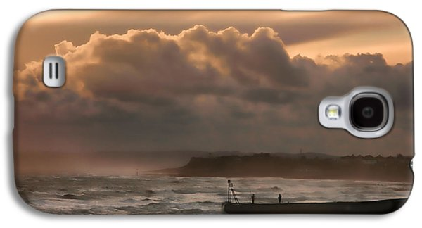 Winter Storm Photographs Galaxy S4 Cases - November storm Galaxy S4 Case by Sharon Lisa Clarke
