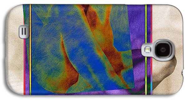 Abstract Digital Pyrography Galaxy S4 Cases - Nude 3 Galaxy S4 Case by Mauro Celotti