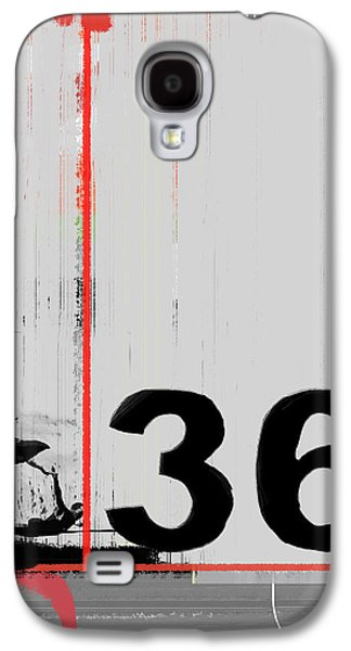 Forms Digital Galaxy S4 Cases - Number 36 Galaxy S4 Case by Naxart Studio