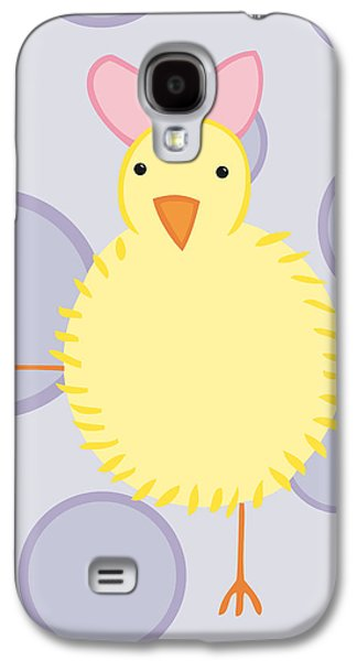 Baby Bird Galaxy S4 Cases - Nursery Art Baby Bird Galaxy S4 Case by Christy Beckwith