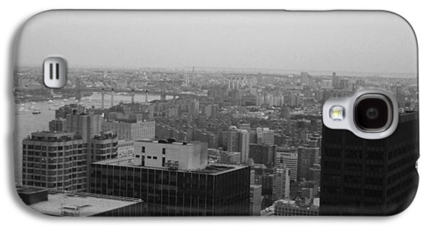 Cab Galaxy S4 Cases - NYC from the Top 2 Galaxy S4 Case by Naxart Studio