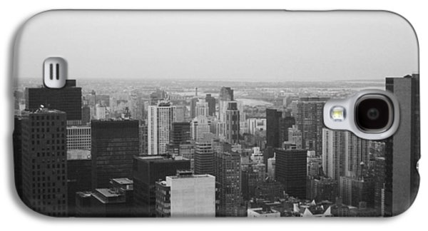 Cab Galaxy S4 Cases - NYC from the Top 3 Galaxy S4 Case by Naxart Studio